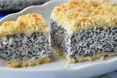 poppy cottage cheese Large, delicious, tender and moderately sweet 👍 Ingredients: dough: ● Wheat flour - 300 gr. Sweets Recipes, Baking Recipes, Cake Recipes, Russian Desserts, Russian Recipes, Yummy Food, Tasty, Sweet Pie, Health Desserts