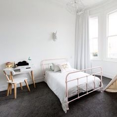 Brooke and Mitch win The Block NZ: Villa Wars - The Block Room Reveals, The Block Nz, White Exterior Houses, Freedom Furniture, Inside Home, Kids Bedroom, Kids Rooms, Bedroom Carpet, Little Girl Rooms