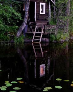 Awesome 48 Wonderful Home Sauna Design Ideas Sauna Design, Outdoor Sauna, Finnish Sauna, Summer Cabins, Lakeside Cottage, Little Cabin, Cabins And Cottages, Cabin Homes, Cabins In The Woods