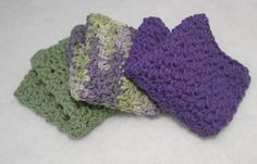 another simple dish cloth pattern