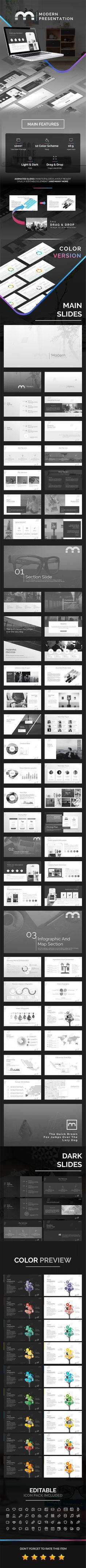 Modern Powerpoint Template - Business PowerPoint Templates Download here: https://graphicriver.net/item/modern-powerpoint-template/19360977?ref=classicdesignp