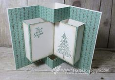 Hello Stampers   are you ready for a Fancy Fold? this month the Fancy Folds Design Team will share are Pop Up Book Card. Writing in...