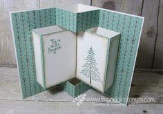 Video Pop Up Book Fancy Fold Blog Hop | Stamp & Scrap with Frenchie | Bloglovin'