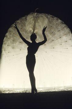 Joséphine Baker in Monte Carlo by Jack Garofalo, 1974.