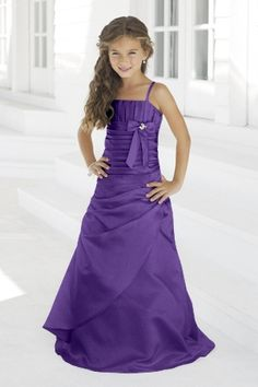Junior Bridesmaid Dresses, Flower Girl, Special Occasion Dresses by Alexia Designs in Purple