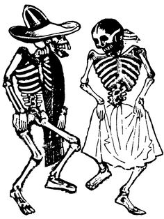 Mexican Skeleton Graphic