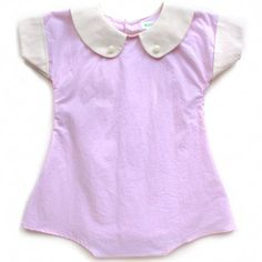 Sweet William baby clothes.  This little romper is too cute for words.