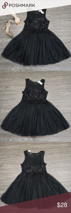 ✨ Black Sequin Tule Party Dress ✨ ✨ Black Sequin Tule Party Dress ✨  ✨ New with tags- Never worn ✨ Super cute Party Dress- perfect for the Holidays & New Years  🔸Brand New✨ 🔸PRICE IS FIRM- already listed at lowest price  🔸If you want to save please look into bundling  🔸In Stock 🔸No Trades 🔸Will ship within 24- 48 hours Monday-Friday  🚫Please -NO- Offers on items priced $10 and under AND ON SALE ITEMS‼️  🚫Serious Inquiries Only❣️  🔹Bundle one or more items from my boutique to only…