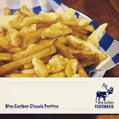 Blue Caribou Poutinerie Poutine, Canteen, Chicken Wings, Goodies, March, Blue, Food, Sweet Like Candy, Gummi Candy