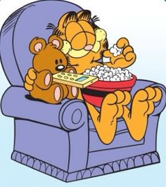 Garfield... ❤️Quality Time with Pooky!❤️❤️...
