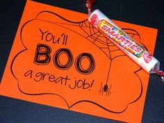 Test Prep Halloween Style and free printable Halloween gift tags for students, teammates and teacher friends!