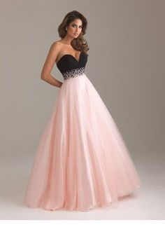 Ball-Gown Strapless Sweetheart Floor-Length Chiffon Tulle Charmeuse Prom Dress With Ruffle Beading Sequins