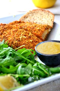 breaded #fish #recipe with spicy aioli