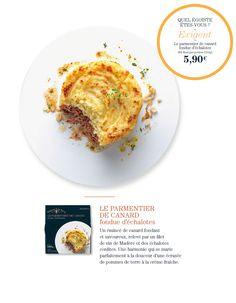 Exigeant : Parmentier de canard, fondue d'échalotes #lemeilleur !!!