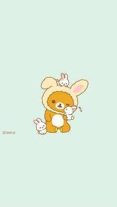 Kawaii Drawings, Cute Drawings, Rilakkuma Wallpaper, Sanrio Characters, Wallpaper Ideas, Cute Wallpapers, Holiday Ideas, Iphone Wallpaper, Cartoons