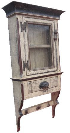 Ideas For Kitchen Corner Wall Cupboards Primitive Furniture, Country Furniture, Handmade Furniture, Repurposed Furniture, Painted Furniture, Diy Furniture, Furniture Plans, System Furniture, Glass Furniture