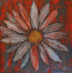Small Painting Daisy 1