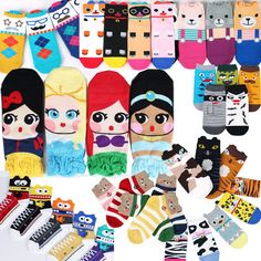 New Women Girl Big Kids Fashion Casual Cute Character Socks Made in Korea #is #Casual