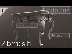 In this tutorial artists will learn how to sculpt ornamental designs in ZBrush with a combination of masking and brush techniques.