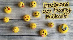Emoticons Imanes y Pelotitas :: Foamy Moldeable ( Goma Eva)