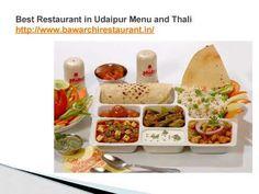 Best Restaurant in Udaipur Menu and Thali
