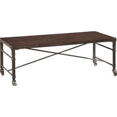 Found it at Wayfair - Coffee Table 54x24 $247