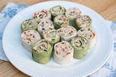 SOUTHWEST CHICKEN ROLL-UPS ~ Idees And Solutions