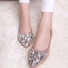 Womens Dress Flats, Flat Dress Shoes, Wedge Shoes, Ballet Shoes, Flat Shoes, Shoes Heels, Ballerina Flats, Women's Pumps, Shoes Sneakers