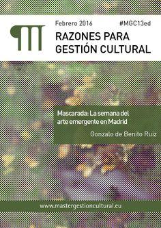 Razones para Gestión Cultural. Feb. 2016
