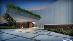 Single Residential - SAOTA Architecture and Design Modern Entry, Sidewalk, Villa, House Design, Outdoor Decor, Projects, Image, Pretoria, Decks