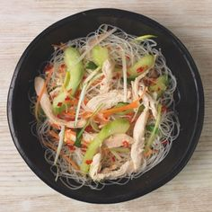 Gok Wan's Vietnamese chicken noodle soup. For more like this, click the picture or visit RedOnline.co.uk