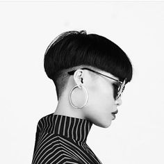 just short haircuts, nothing else. If you& thinking of getting an undercut, sidecut, pixie, or any. Bad Hair, Hair Day, Pixie Hairstyles, Cool Hairstyles, Hair Inspo, Hair Inspiration, Bowl Haircuts, Short Haircuts, Alternative Hair