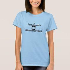 Flight Attendant RV T-Shirt