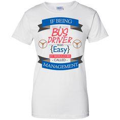 MBIT Exclusive Bus Driver Ladies Custom 100% Cotton T-Shirt