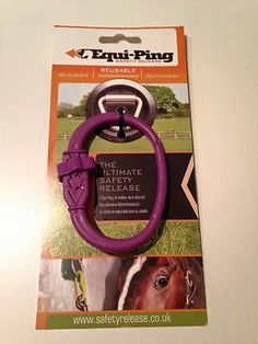 Equi-Ping / EquiPing / Equi Ping Horse Safety Tie / Quick Release / Tether