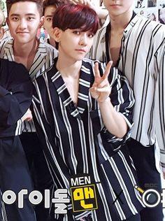 exo :: im telling you baekhyun is just a soft little bub ✌︎('ㅅ') #exo #baekhyun #kokobop