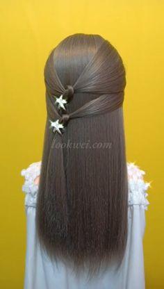 30 Braids Hairstyle Idea & Quiffed Ponytail – T-Shirts & Sweaters Ponytail Hairstyles, Girl Hairstyles, Wedding Hairstyles, Hair Knot, Trending Haircuts, Long Wavy Hair, Hair Pictures, Hair Videos, Hair Designs