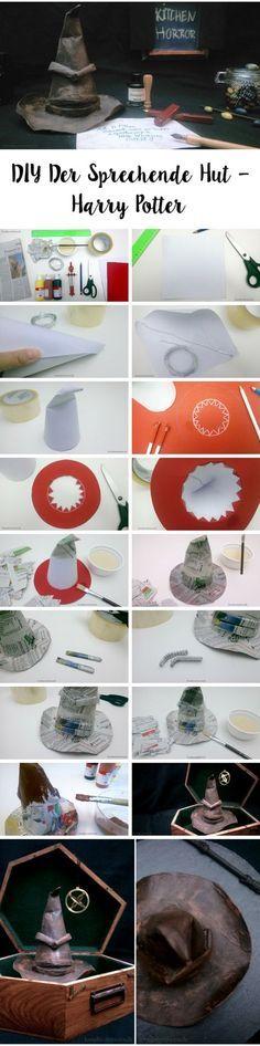 DIY Der Sprechende Hut – Harry Potter // DIY The Soarting Hat – Harry Potter