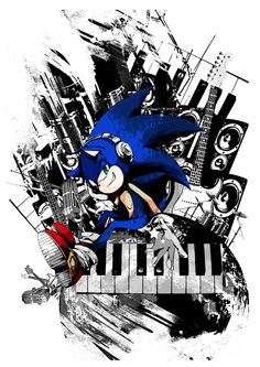Sonic the hedgehog groove. So cool.
