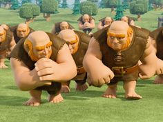 A Giant and his squad! #1337wiki #1337wikicoc #clashofclans