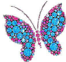 Butterfly Glitter Graphics | Butterfly Pages