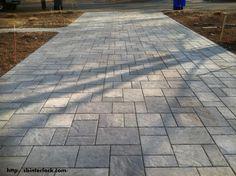 Terracast Offers wide range of interlocking pavers india. Best Interlocking Pavers Manufacturer & Supplier in Bangalore. Get Interlocking Pavers at best price Concrete Patios, Stamped Concrete Driveway, Concrete Walkway, Paver Walkway, Precast Concrete, Reinforced Concrete, Driveway Design, Patio Design, Driveway Ideas