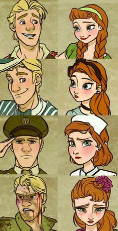 Century Kristoff & Anna ❤ It looks like Anne of Green Gables Dreamworks Animation, Disney Animation, Disney And Dreamworks, Disney Pixar, Disney Crossovers, Disney Memes, Disney Cartoons, Disney Princes, Disney Couples
