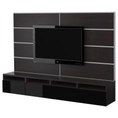 BESTÅ Tv-møbel, kombinasjon - IKEA  5555,-