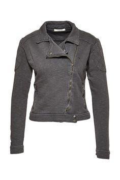 Sweat Biker Jacket Women Jacken