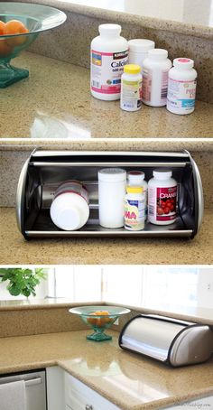 41 best kitchen counter storage images in 2019 kitchen storage rh pinterest com Kitchen Countertop Storage Cabinet Kitchen Countertop Storage Cabinet