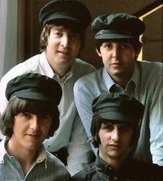 John Lennon, Paul McCartney, George Harrison, and Richard Starkey