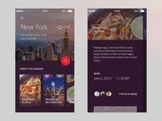 City App Concept by Iswanto Arif Android Design, Android Ui, Ios Design, Mobile Ui Design, Ecommerce Website Design, Responsive Web Design, Ui Web, Mobile App Ui, User Interface Design