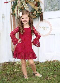 60+ Red Flower Girl Dresses Ideas