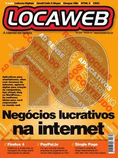 Revista Locaweb - Ed24  10 Negócios Lucrativos na internet Firefox 4 PayPal.br Single Page